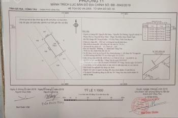 Bán lô đất hẻm 965 P11, đường 30/4, Tp Vũng Tàu