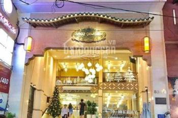 Cho thuê nhà mặt phố Hòa Mã, Hai Bà Trưng, 95m2 x 7 tầng + 1 hầm MT 7,5m, 150tr/th đẹp, 0928872222