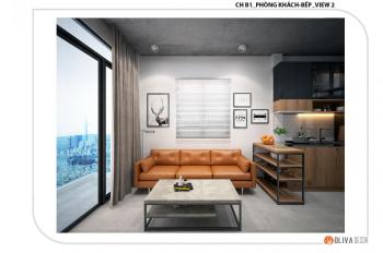 Cho thuê tòa nhà 5x20m, trệt 4 lầu 6 CH 1PN cao cấp và 1MB 1 lửng, giá 72tr/th. LH 0938 600 986 Phi