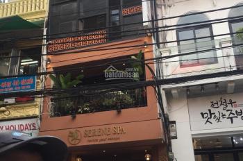 Cho thuê nhà mặt phố Nguyễn Thị Định: 90m2 x 5,5 tầng, mặt tiền 6m, có hầm, thang máy LH 0974557067