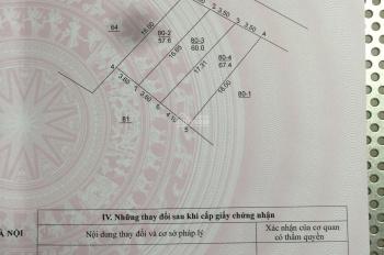 RẤT HOT - Bán đất diện tích 57,6m2 mặt phố Tư Đình, Phường Long Biên, Quận Long Biên, HN
