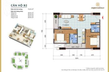 Nhận nhà ở ngay 2 suất thuê - mua vào tên trực tiếp chung cư Hope cạnh Le Grand Jardin Sài Đồng