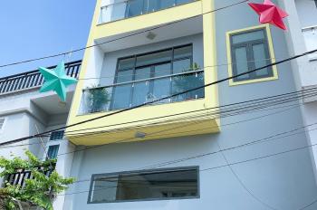 Bán nhà Quận 12, ngay ngã tư Ga (sát Gò Vấp) 1 trệt 1 lửng 2 lầu, 6 x 10m, hẻm xe hơi, sổ riêng