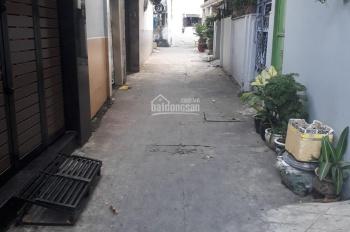 Nhà hẻm ba gác Nơ Trang Long 65m2 1 lầu đúc 80tr/m2. 0901.444.685