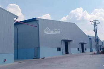 Cho thuê xưởng khu vực Bàu Bàng
