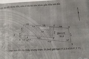 Bán nhà ngõ 209 Kim Mã 5T dt 30m2, 3.1 tỷ