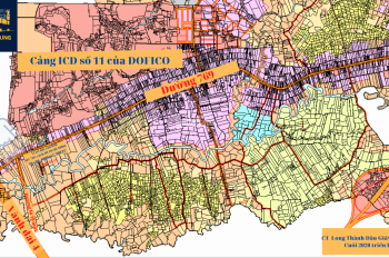 Bán đất 2MT đường 769, 50m ngang, cạnh đường Vành Đai 4, Hương Lộ 10, đối diện cảng ICD số 11