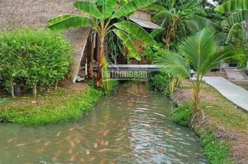 Bán 1000m2 khu nghỉ dưỡng nhà vườn cách TP HCM 40p đi xe ô tô