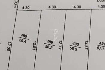 Bán 3 lô đất tại khu 3 Nhị Châu giá rẻ