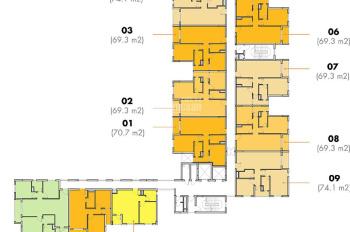 Bán căn hộ M - One giá ok nhất thị trường, chỉ có 3.35 tỷ (bao thuế, phí). Liên hệ 096.316.9405