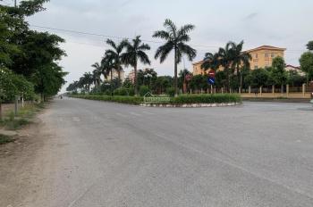 Chính chủ bán lô đất đấu giá khu hành chính huyện Mê Linh trục mặt đường 40m, LH 0845511155