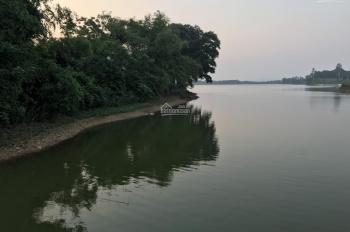 Bán đất view mặt hồ Đồng Chanh, giá rẻ, bám mặt hồ 70m