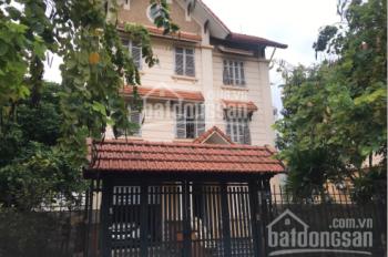 Cho thuê biệt thự mặt phố 400m2 có thể làm nhà hàng, quán bia khu vực Yên Hòa, Cầu Giấy, Hà Nội