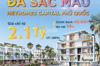Meyhomes Capital - Thành phố đảo nhiệt đới đa sắc mà, giá chỉ từ 6.6 tỷ/căn LH 0942542727