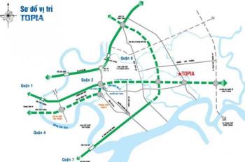 Bán đất Topia Garden Khang Điền Q9, 6x16m bán giá 35 - 36tr/m2, 6x19m bán giá từ 33tr/m2 0902442039