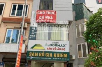 Cho thuê nhà mới xây 6 tầngx40m2 ngay mặt đường Trường Chinh, mặt tiền rộng, kinh doanh sầm uất