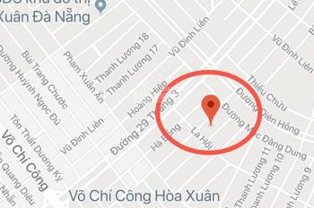Bán đất đường Nguyễn Hiến Lê đường thông, Tây Bắc giá cực tốt, khu đô thị Nam Cầu Nguyễn Tri Phương