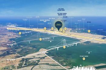 Đất nền biển 2 mặt tiền lớn trung tâm khu kinh tế Nhơn Hội liền kề sân golf 36 lỗ. LH: 0981772371