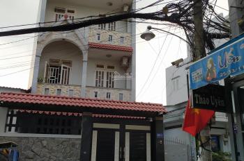 Cho thuê nhà 4 tấm giá rẻ mặt tiền đường Nguyễn Ngọc Nhựt, P. Tân Quý, Q. Tân Phú