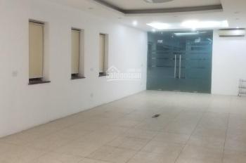 Cho thuê văn phòng mặt phố 61 Nguyễn Khang, 90m2 có thang máy