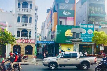 Bán nhà mặt tiền kinh doanh sầm uất đường Vũ Tùng P2 Bình Thạnh 5x20m TXD hầm 3 lầu giá 16 tỷ