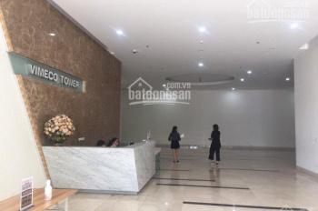 Cho thuê VP chân đế tòa chung cư mới xây Nguyễn Chánh lô góc siêu thoáng 200m2 giá 250ng/m2/th