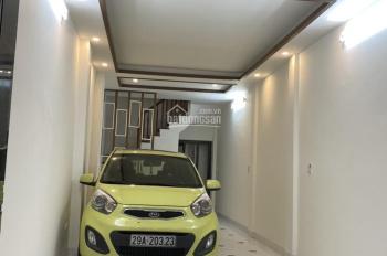 Bán nhà 4,65 tỷ, ngõ 167 Trương Định, Đại La, Minh Khai, 50m2x5T, 2 mặt thoáng, ô tô vào nhà