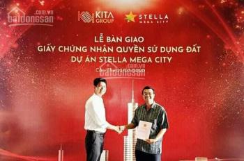 Chỉ cần thanh toán 590 tr (30%) sở hữu nền đẹp Stella Mega City 112m2 (ưu đãi ngay 10%)-0933443900