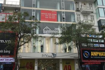 Cho thuê nhà mặt phố Thái Hà Siêu đẹp, diện tích 413m2 x 3 tầng, MT 13m, thông sàn. LH 0929.666.507