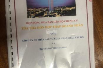 Cần bán căn hộ chung cư Tháp Doanh Nhân, vị trí trung tâm Quận Hà Đông, Hà Nội, 2 phòng ngủ, 1 vs