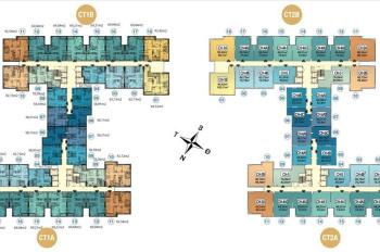 Chính chủ chung cư Hà Nội Homeland cần bán gấp CH 809, DT 78m2, 3PN, giá 21tr/m2. LH 0904516638