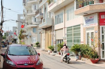 Nhà bán Quận 12 mặt tiền sổ hồng riêng, nhà bán thuộc Phường Thới An Đường TA 35 sổ hồng cầm tay
