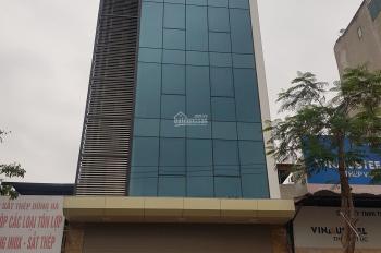 Chính chủ cho thuê nhà MP Trần Quốc Hoàn - Cầu Giấy.Dt 125m x 9 tầng.Mt 8m.Lh 0984213186
