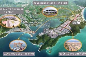 Đất nền sổ đỏ lâu dài chỉ 89tr ven biển Kỳ Co Gateway Quy Nhơn, TT18 tháng, Bank 75% LH 0932804617