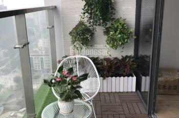 Cho thuê căn hộ Yên Hòa CT3 - E4 DT 100m2, 2PN, đồ CB 2 điều hòa. Giá 9tr/th, 0989.524.931