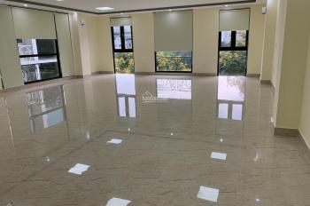 Cho thuê sàn, nhà 7 tầng 1 hầm Chùa Láng Đống Đa, 140m2 sử dụng 120m2, nhà mới giá 26 triệu/th