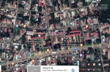 Bán đất mặt tiền đường 14A ngay chợ Đạt Lý, Xã Hòa Thuận, Buôn Ma Thuột - 10 x 43m