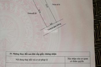 Bán đất tổ 6, thị trấn Thạch Hà, Hà Tĩnh, LH 0392421767