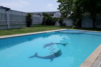 Hot Thảo Điền cho thuê biệt thự 500m2 với 5 phòng ngủ, 6WC có sân vườn rộng