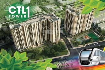 Mở bán shophouse và 3 tầng đẹp nhất dự án CTL Tower ngay cầu Tham Lương, giá góc CĐT. 0888.66.88.28