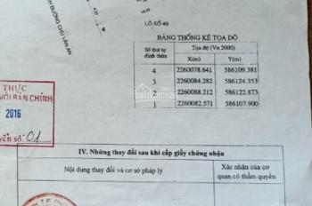 Chính chủ cần bán lô đất nền sổ đỏ mặt đường Chu Văn An, TP Thái Bình giá tốt.