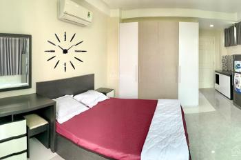 Cho thuê căn hộ dịch vụ, đầy đủ nội thất, có thang máy, view sông, đối diện công viên Tầm Vu