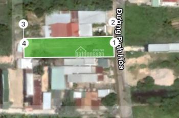 Bán đất xây biệt thự mặt tiền đường Bình Hoà, xã Phước Đồng, Nha Trang