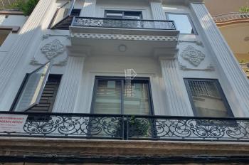 Cho thuê nhà mặt phố Trung Hòa 160m2 x 5 tầng mặt tiền 6m thông sàn có đầy đủ điều hòa, chỗ ô tô