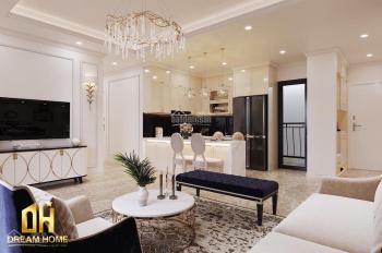 Cho thuê căn hộ Vinhomes D'capitale Trần Duy Hưng, 80m2, 2PN, 2WC, đủ đồ, 15tr/th LH: 0915586141