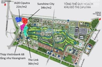 Bán chung cư IA20 Ciputra Hà Nội (DT 92 - 110m2)TK 3PN, 2WC, Suất ngoại giao cắt lỗ chỉ từ 1.9 tỷ.