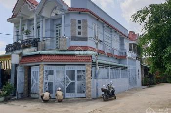 Bán nhà 2 mặt tiền 5x17m gần ngã 3 chùa, gần trường Nguyễn Thị Nuôi, xã Thới Tam Thôn, Hóc Môn.