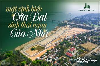 Duy nhất 1 giá rẻ nhất dự án KĐT Nam Hội An City - 2.4 tỷ CHIẾT KHẤU 7% Gọi ngay 0905 956 613