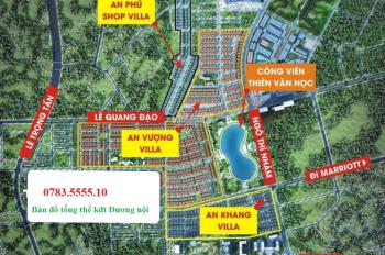 Biệt thự An Vượng cạnh hồ điều hòa 12ha và TT Aeon Mall Hà Đông, giá chỉ từ 56tr/m2. LH: 0783555510