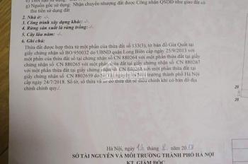 Bán đất 35.5m đep và hiếm tại Gia Quất, Long Biên